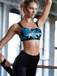 Pin For Later See How The Victorias Secret Angels Are Getting Fit Runway Candice Swanepoel Model Is Working With Professional Ballerina Mary