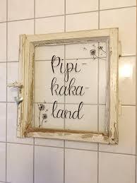 diy fürs badezimmer pipikakaland aus altem fenster