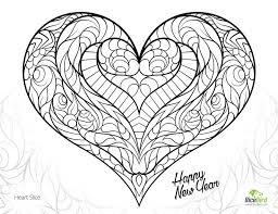 Heart Slice Free Adult Coloring Pages Printable Love For Adults Amazing