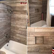 Tiling A Bathtub Skirt by Best 25 Tub Surround Ideas On Pinterest Bathtub Makeover