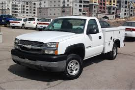 100 Pickup Truck Utility Beds CNG Utah 2004 Chevrolet Silverado 2500HD Bed BiFuel
