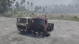 100 V10 Truck MAZ64229 V100519 MudRunner SnowRunner Spintires