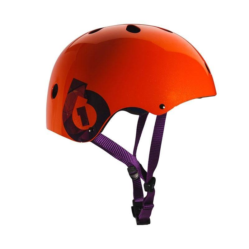 SixSixOne 2016 Dirt Lid Traditional Skate and Multi-Sport Helmet - 7123 Orange