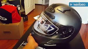 Hjc Cl 17 Chin Curtain Canada by Hjc Cl 17 Motorcycle Helmet Review Youtube