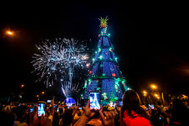 Kinds Of Christmas Tree Lights by Remarkable Christmas Trees Around The World Travel