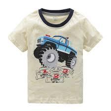 100 Monster Truck Shirts Amazoncom HowJoJo Boys Long Sleeve Cotton T