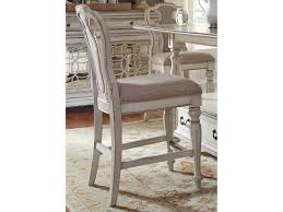 Counter Height Chairs With Backs by Liberty Furniture Magnolia Manor Dining Splat Back Counter Height