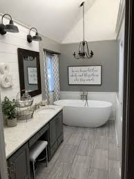 Gorgeous Farmhouse Master Bathroom Decorating Ideas (13) - ROUNDECOR 10 Easy Design Touches For Your Master Bathroom Freshecom Cheap Decorating Ideas Pictures Decor For Magnificent Photos Half Images Bathroom Rustic Country Cottage 1900 Design Master Jscott Interiors Double Sink Bath 36 With Marble Style Possible 30 And Designs Bathrooms Designhrco Garden Tub Wall Decor Rhcom Luxury Cstruction Tile Trends Modern Small