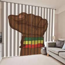 2019 custom hohe qualität vorhang fenster wohnzimmer schlafzimmer power faust moderne fenster vorhänge