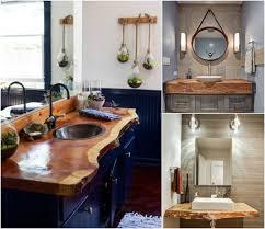 plan de travail cuisine bois brut plan de travail salle de bain en bois pour tous les styles 20