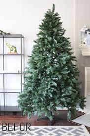 How To Flock A Christmas Tree Via Oh Everything Handmade LLC