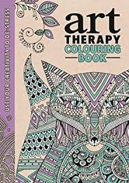 The Art Therapy Colouring Book Series