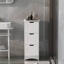 badezimmerschrank schmal weiß