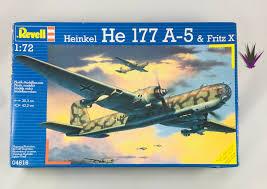 100 Fritz 5 Revell 1 72 Heinkel He 177 A A A Greif Model Aircraft