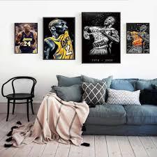 drucke poster moderne einfache wohnzimmer dekoration malerei sport basketball player bild für sport liebhaber geschenk