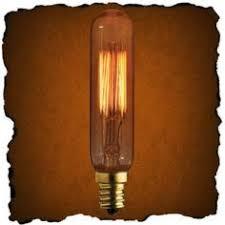 25 watt vintage antique light bulb radio style 3 5 in