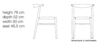 Dining Chairs Chair Width Dimension Image 1 For Twenty Measurements