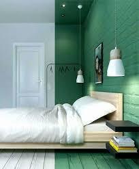 peinture mur chambre conseils peinture chambre deux couleurs peindre tete de lit mur