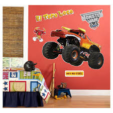 Monster Jam El Toro Loco Giant Wall Decals | Monster Jam And Products Monster Truck Vinyl Wall Decal Car Son Room Decor Garage Art Grave Digger Fathead Jr Shop For Sticker Launch Os_mb592 Products Tagged Cstruction Decal Stephen Edward Graphics Blue Thunder Trucks And Decals Stickers Jam El Toro Giant Elegant Familytreeshistorycom Blaze The Machines Scene Setters Decorating Kit Decals Home Fniture Diy Mohawk Warrior Warrior Monster Trucks Jam Wall Stickers Transportation 15 Fire
