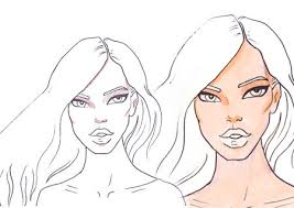 How To Draw Skin And Shadows Step By Tutorial For Drawing Fashion