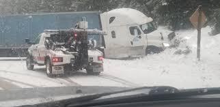100 Semi Truck Parking Games Stuck In Snow Blocks Lanes On Highway 140