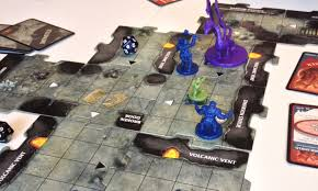 Legend Of Drizzt Board Game Review Wobbly Dragon The Random Cavern Tiles Mean That Every Dungeon Is Different