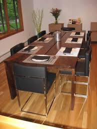Custom Table Pads For Dining Room Tables Fancy Design With Rectangular Brown Wooden