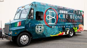 100 Italian Food Truck Che Buono Vehicle Wraps Palmer Signs Inc
