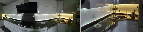 beleuchtete küchenrückwände lichtfeldschmiede led