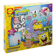 ALEX Toys Spongebob Rub Art Kit - AlexBrands.com