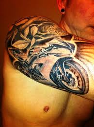 20 Tremendous Motorcycle Tattoos