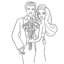 Barbie And Ken Mariposa Coloring Pages Free