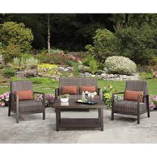 Agio Patio Furniture Touch Up Paint by San Luis 4 Piece Seating Set Design Inspiration Pinterest