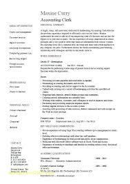 Transportation Billing Clerk Resume Medical Specialist Examples