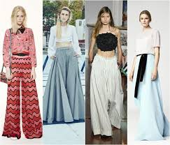 Wide Palazzo Pants Spring Summer 2016