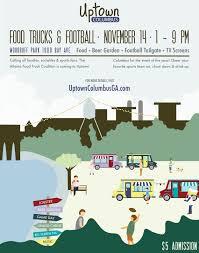 100 Columbus Food Truck Festival Columbus Ga Food Truck Festival Event Poster ThesloFtF