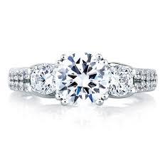 Engagement Ring Fink Exclusive Round Diamond Trellis Four