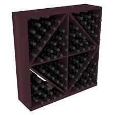 Karnes Redwood Diamond Storage 96 Bottle Floor Wine Rack By Red Barrel Studio Savings