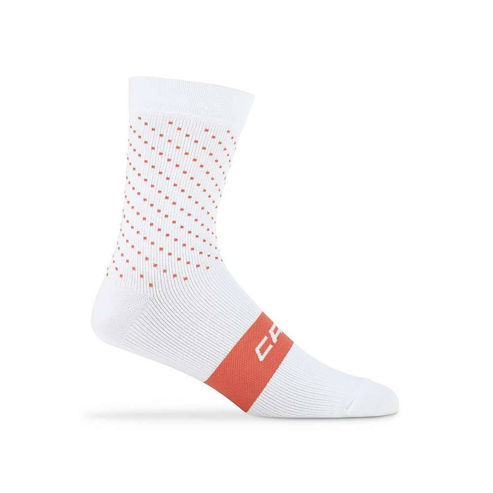 Capo AC Strada Sock White/Persimmon, L/XL