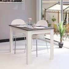table manger table basse bois et blanc trendsetter