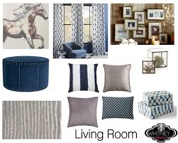design project gray and blue living room bedroom design
