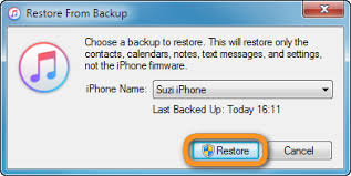 How to restore iPhone notes from iPhone backup via iTunes