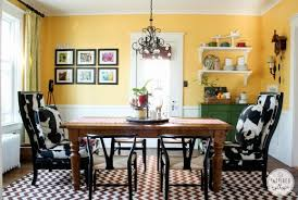 Dining Room Going Yellow 1