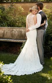 the romantic lace over matte side lavish satin designer wedding