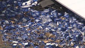 100 Bud Light Truck Truck Involved In Tempe Crash VIDEO