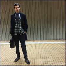 hugo plaid suit alexandru neagu hugo chelsea boots d s damat paisley scarf
