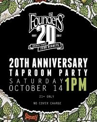 Saranac Pumpkin Ale Calories by Founders Celebrating 20 Years With Tank Bender Eisbock Aged In