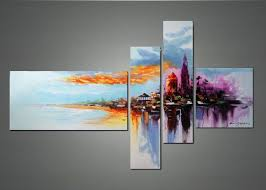 wall designs abstract wall modern cityscape wall