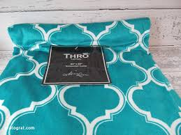 Turquoise Blanket Throw Lovely Thro Quatrafoil Baltic Blue Teal Microluxe 50x60
