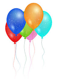 2000x2788 Birthday Party Balloon PNG image
